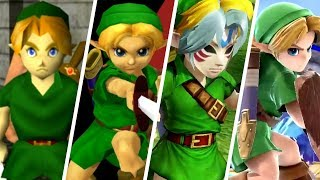 Evolution Of Young Link (1998   2018)