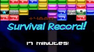 AstroPop Deluxe - Survival Mode (17 Minutes - Impressive Record)