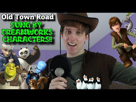 Old Town Road BUT in Impressions!! (Dreamworks)