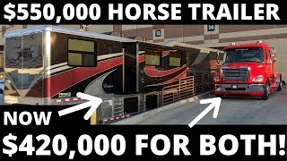 THE MOST EXPENSIVE HORSE TRAILER EVER MADE