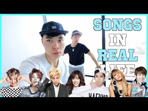 Songs in Real Life K-Pop Edition