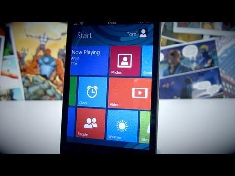 Get Windows 8's Metro UI Look On Your iPhone