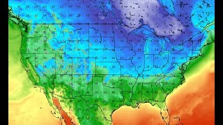 Very Cold Arctic Air About to Plunge Into the Midwest and East Coast