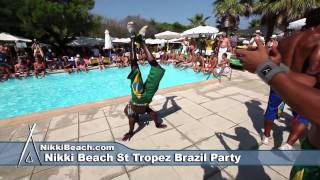 Nikki Beach St Tropez Brazil Party Aug nd 2011
