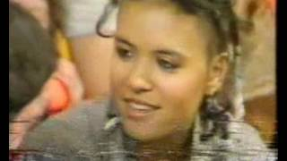 Annabella from Bow Wow Wow on TisWas 1982