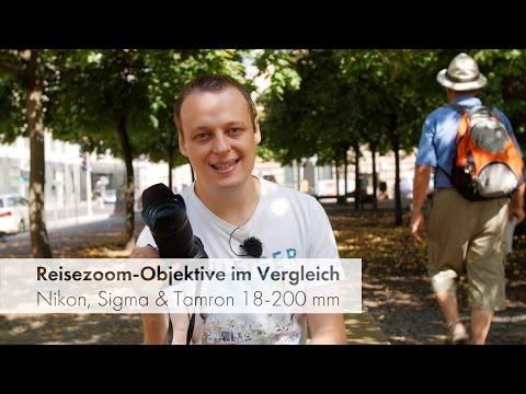 3 Reisezoom-Objektive mit 18-200 mm Brennweite im Vergleich [Deutsch]