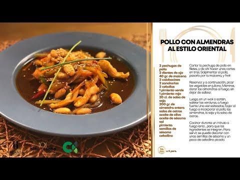 [RECETA] POLLO CON ALMENDRAS AL ESTILO ORIENTAL   Bien Me Sabe #21   #RTVC
