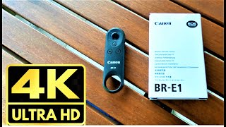 Canon BR-E1 Wireless Remote Controller - Unboxing, Review and Connecting with Canon EOS M50 Camera