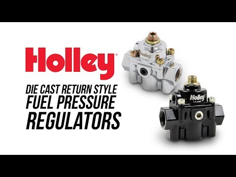 Holley Die Cast Bypass Fuel Pressure Regulators