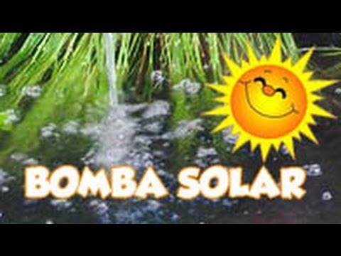 Estanque con Bomba Solar