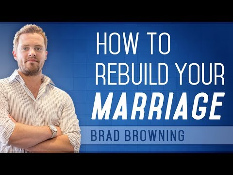 How to Rebuild Your Relationship With Your Spouse