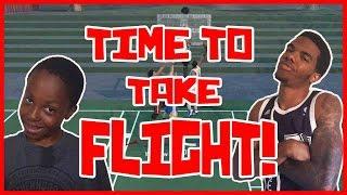 IT'S TIME TO TAKE FLIGHT!! - NBA 2K16 Blacktop Gameplay ft. Flam