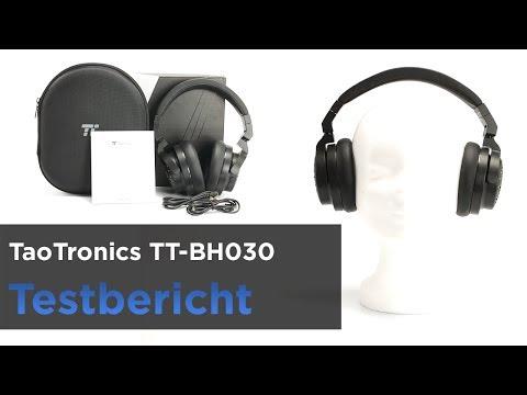 TaoTronics TT-BH030 im Test - Bluetooth-Kopfhörer mit Hartschalen-Transportbox und Klinkeanschluss