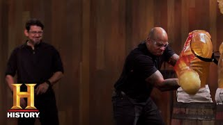 Forged in Fire: Deadly Sica Sword Tests (Season 5, Episode 3) | History