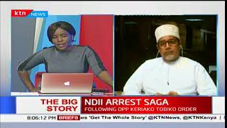Muhuri chairman, Khelif Khalifa on David Ndii's arrest saga - The Big Story