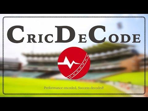 Video of CricDeCode (CDC)