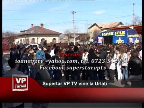 Supertar VP TV vine la Urlați
