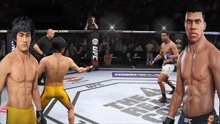 Bruce Lee Vs Muhammad Ali 2 MONUMENTAL REMATCH!!! | EA Sports UFC 3