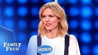 Brooklyn Decker Throws Her MOM Under The Bus! | Celebrity Family Feud