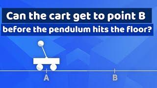 An inverted pendulum puzzle