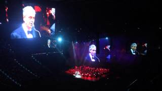 Andrea Bocelli in concert 12/14/2013 - Love me tender