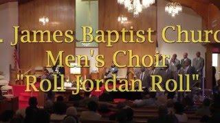 SJBC Men's Choir Roll Jordan Roll