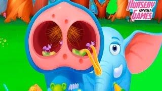 Спасаем и лечим животных из ДЖУНГЛЕЙ|Веселая игра для детей|Jungle Doctor Kids Game for Girls