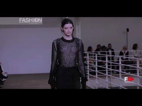 OLIVIER THEYSKENS Spring Summer 2019 Paris - Fashion Channel