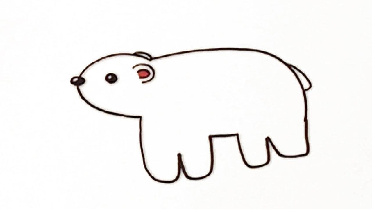 Cómo dibujar un oso - Manualidades para niños