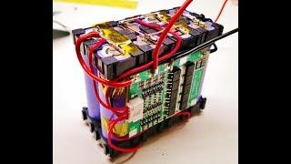 Akku 4S2P 14.8v mit BMS Selber bauen 18650 Li-Ion DIY Ebike