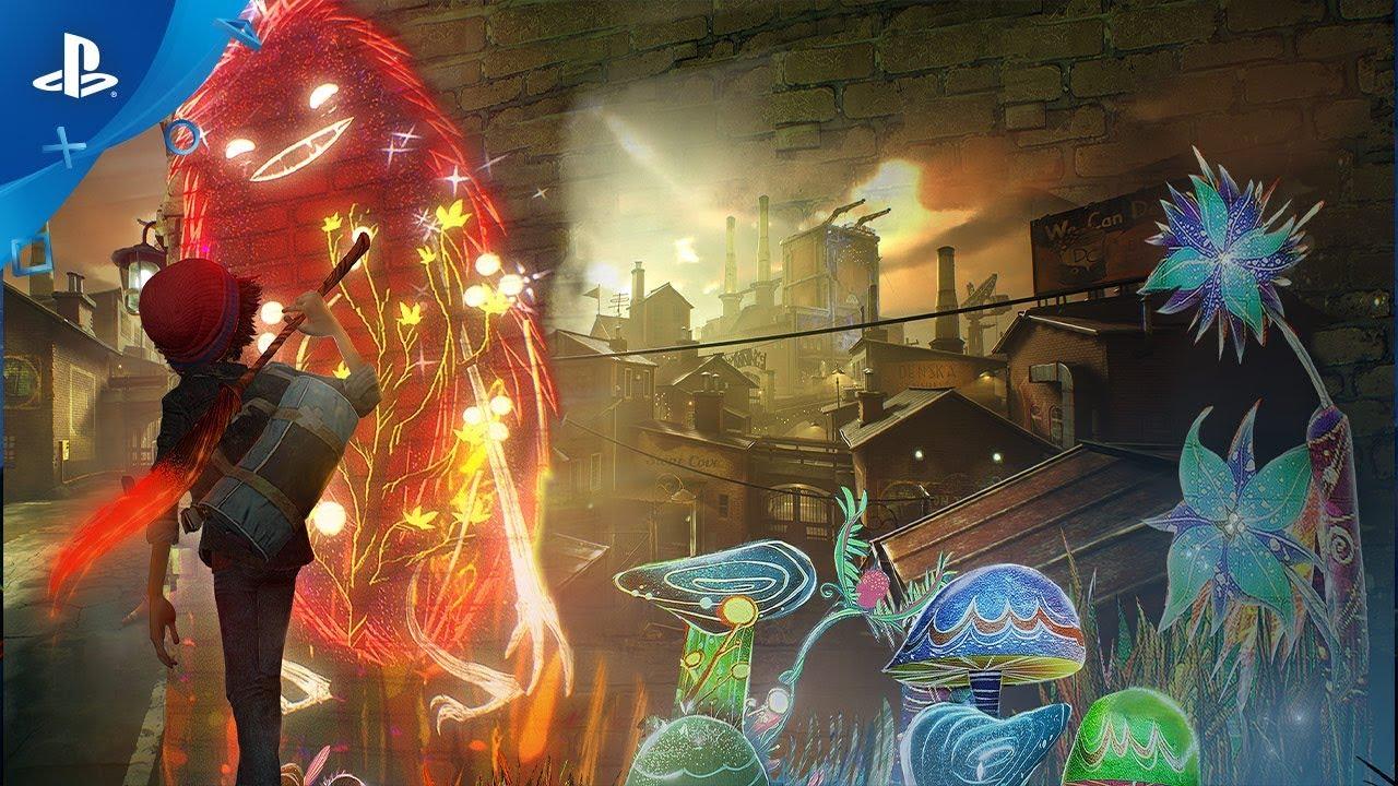 Concrete Genie Disponível em 8 de Outubro para PS4