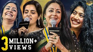 Jyo's Best Ever Live on stage Acting! Suriya's sister Brindha's Live Singing! Jyo's cute Reactions!