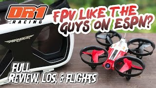 FPV LIKE THE GUYS ON ESPN? - Full Review of the Airhogs DR1 Racing Drone