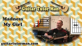 My Girl - Madness - Acoustic Guitar Lesson