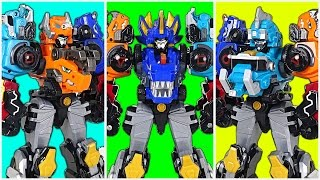 5 Unit Combine Master! DinoCore S02 - Part 3 - Ultra D Saber, Ultra D Buster Master - DuDuPopTOY
