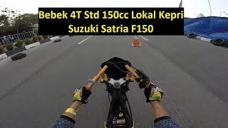 #348 Rio Jangkrik   Satria FU   Bebek 4T Std 150cc Lokal Kepri   Drag Bike Kapolres Karimun Cup 2018