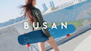 [고효주HyojooKoXVisit Busan] Longboard Riding in the ocean