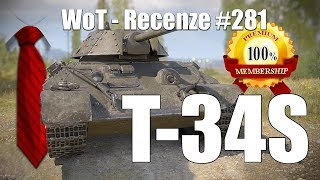 World of Tanks   T-34S (Recenze #281)