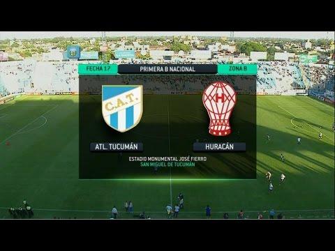 Atlético Tucumán 1 vs Huracán 2
