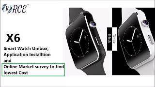 smartwatch x6 firmware update - Thủ thuật máy tính - Chia sẽ kinh