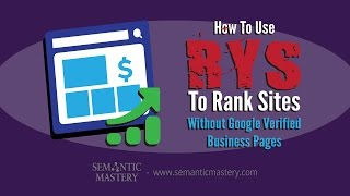 Create RYS & Omg Style Google Entity Stack With Authority Links