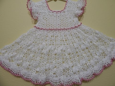 Vestidos bonitos tejidos a crochet