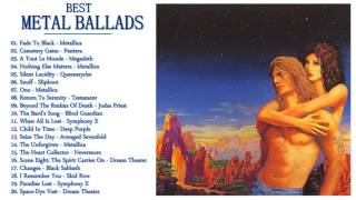 80's,90's. Metal Ballads Collection / The Very Best Of Metal Ballads