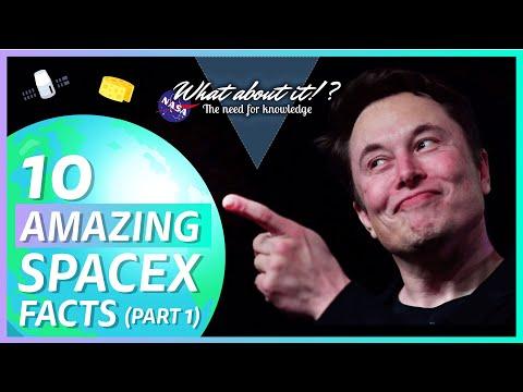 10 zajímavostí o SpaceX – část první
