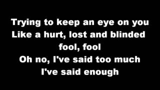 Losing My Religion~R.E.M.~Lyrics