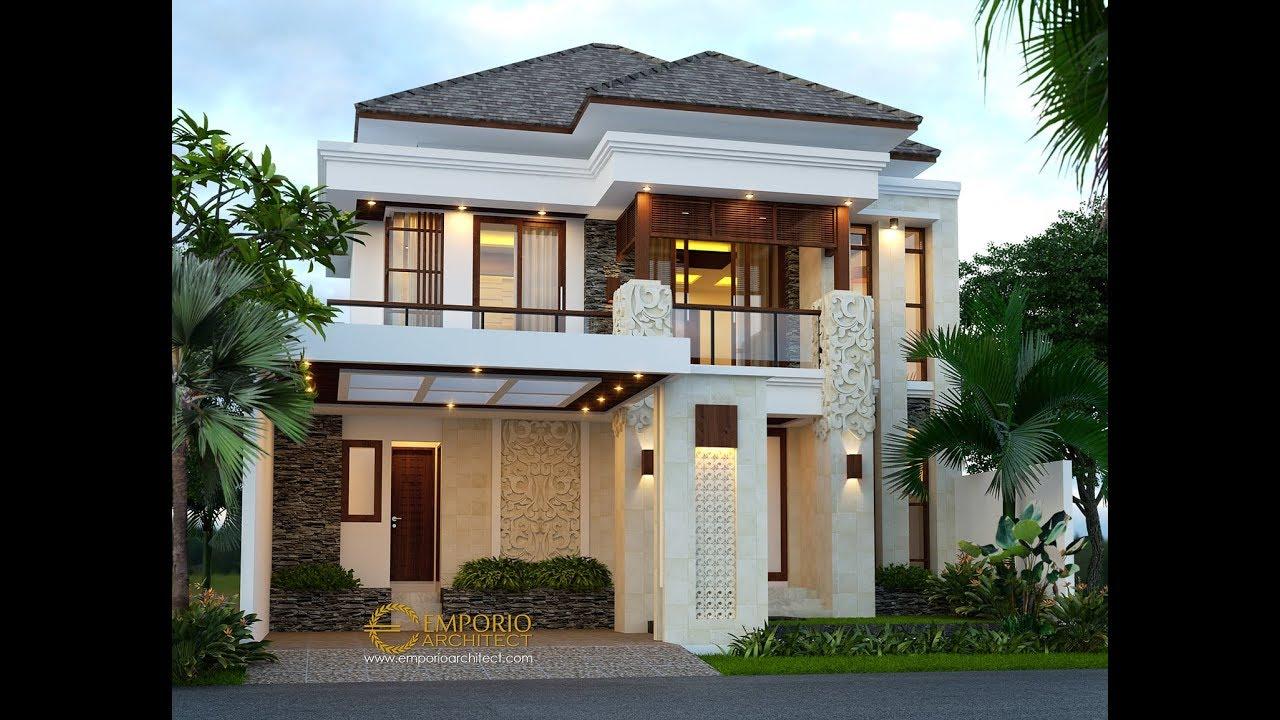 Video 3D Beverly Park Villa Bali House 2 Floors Design Type A38 - Batam