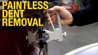 How to repair a dent with the Paintless Dent Removal Kit. Eastwood