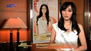 Rosalina Sariowan for Miss Indonesia 2015