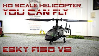 Micro R/C Airwolf Helicopter (Esky F150 V2)