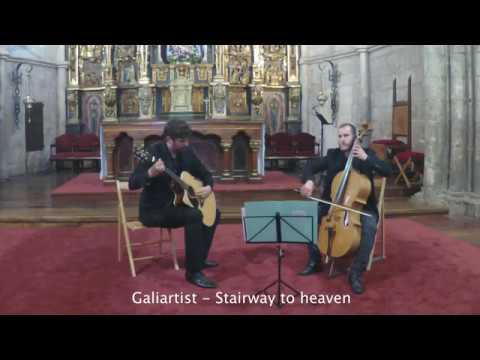 Stairway to heaven-guitarra y chelo